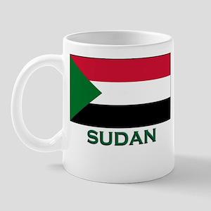 Sudan Flag Gear Mug