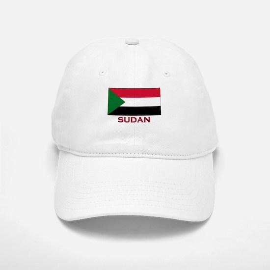 Sudan Flag Merchandise Baseball Baseball Cap