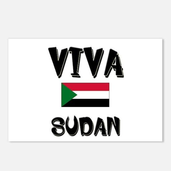 Viva Sudan Postcards (Package of 8)