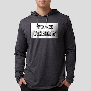 Team Jenny blk Mens Hooded Shirt
