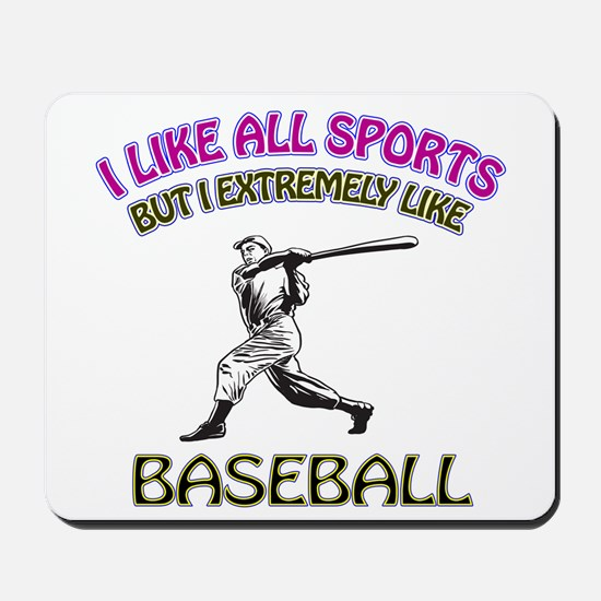 Baseball Design Mousepad