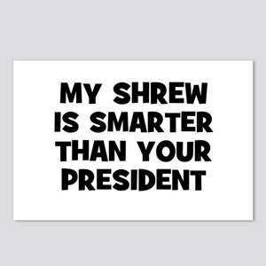 My Shrew Is Smarter Than Your Postcards (Package o