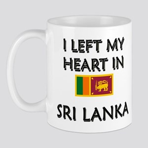 I Left My Heart In Sri Lanka Mug