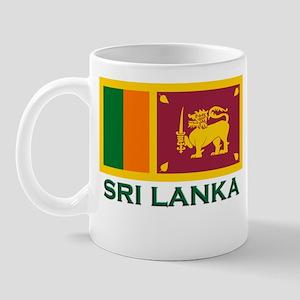 Sri Lanka Flag Gear Mug