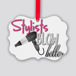 Stylists Blow Better Picture Ornament