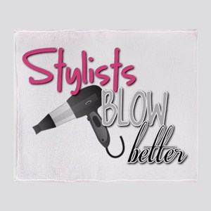 Stylists Blow Better Throw Blanket