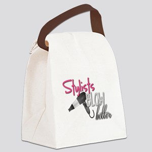Stylists Blow Better Canvas Lunch Bag