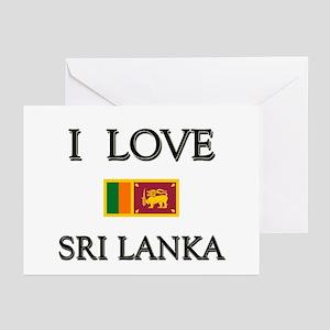 Sri lanka cricket greeting cards cafepress i love sri lanka greeting cards pk of 10 m4hsunfo