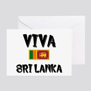 Sri lanka cricket greeting cards cafepress viva sri lanka greeting cards pk of 10 m4hsunfo