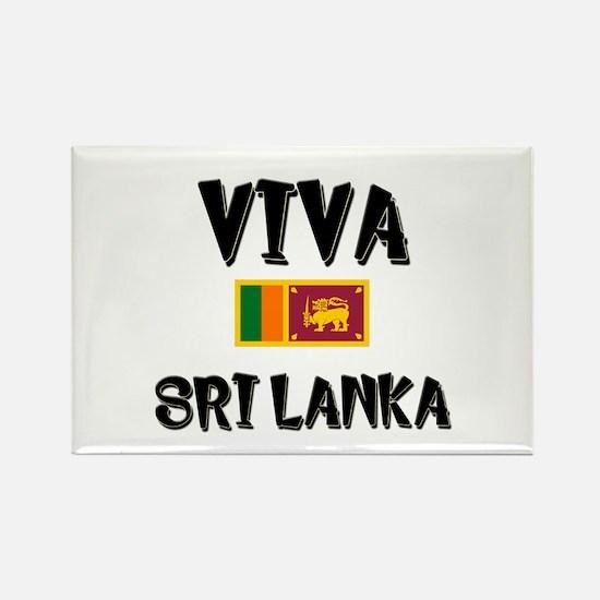 Viva Sri Lanka Rectangle Magnet