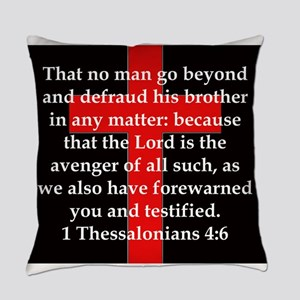 1 Thessalonians 4:6 Everyday Pillow