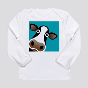 Moo Cow! Long Sleeve Infant T-Shirt