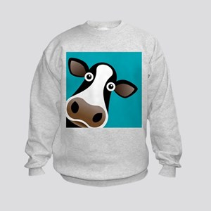 Moo Cow! Kids Sweatshirt