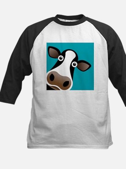Moo Cow! Kids Baseball Jersey