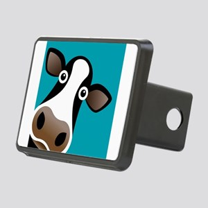 Moo Cow! Rectangular Hitch Cover