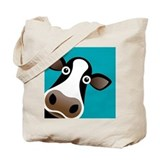 Cow Canvas Tote Bag