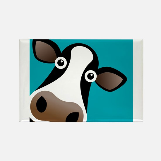 Moo Cow! Rectangle Magnet