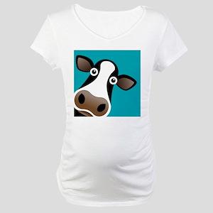 Moo Cow! Maternity T-Shirt
