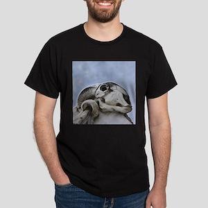 Ram Skull Black T-Shirt
