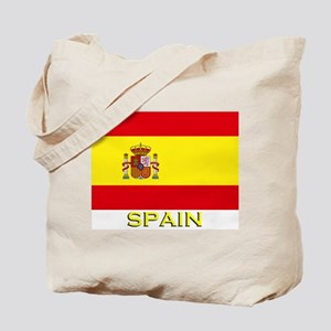 Spain Flag Stuff Tote Bag