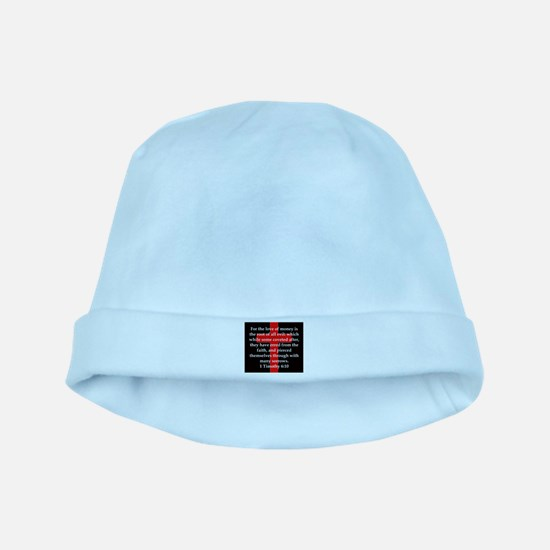 1 Timothy 6-10 Baby Hat