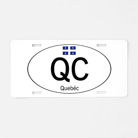 Car code Quebec Aluminum License Plate