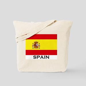 Spain Flag Gear Tote Bag