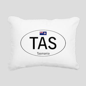 Car code Tasmania Rectangular Canvas Pillow
