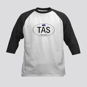 Car code Tasmania Kids Baseball Jersey