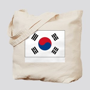 South Korea Flag Picture Tote Bag