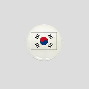 South Korea Flag Picture Mini Button