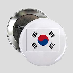 South Korea Flag Picture Button