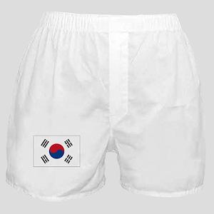 South Korea Flag Picture Boxer Shorts
