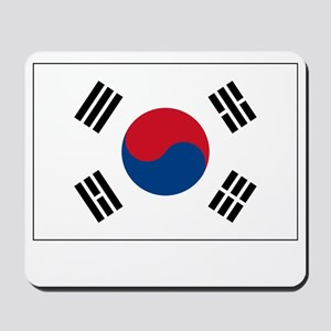 South Korea Flag Picture Mousepad