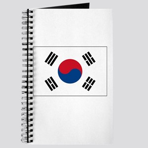 South Korea Flag Picture Journal