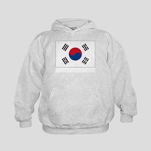 South Korea Flag Picture Kids Hoodie