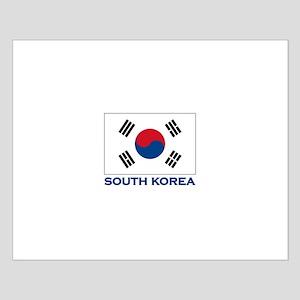 South Korea Flag Stuff Small Poster