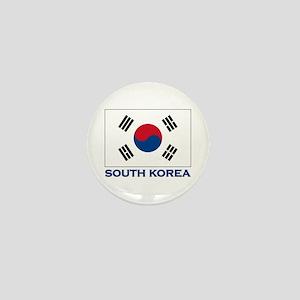 South Korea Flag Stuff Mini Button