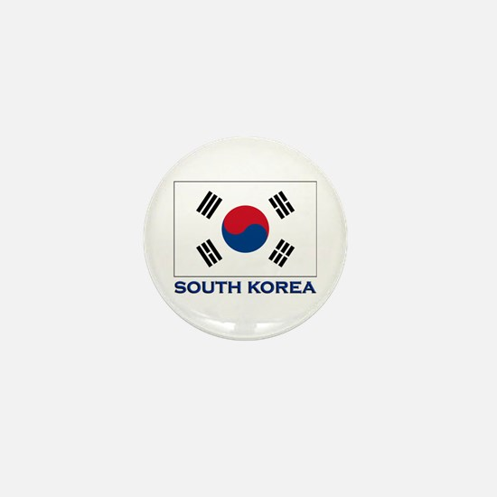 South Korea Flag Stuff Mini Button
