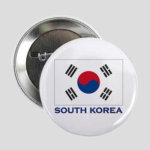 South Korea Flag Stuff Button