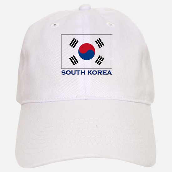 South Korea Flag Stuff Baseball Baseball Cap