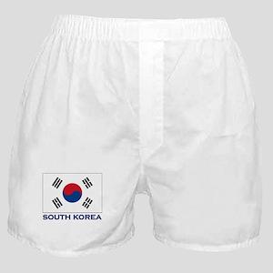 South Korea Flag Stuff Boxer Shorts