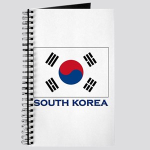 South Korea Flag Stuff Journal