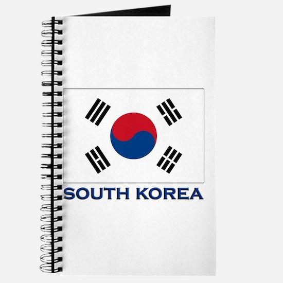 South Korea Flag Stuff Journal