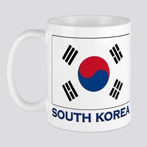 South Korea Flag Stuff Mug