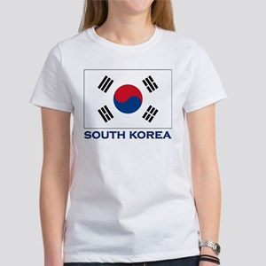 South Korea Flag Stuff Women's T-Shirt