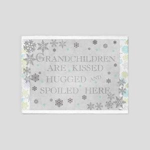 Grandchildren rug 5'x7'Area Rug