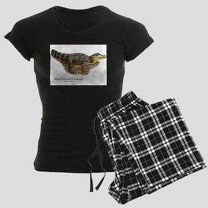 Spectacled Caiman Women's Dark Pajamas