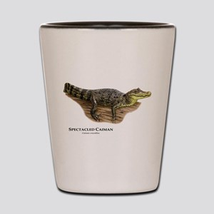 Spectacled Caiman Shot Glass