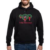 Christmas dominican republic Dark Hoodies